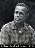 Photo of William Fairbank circa 1970.