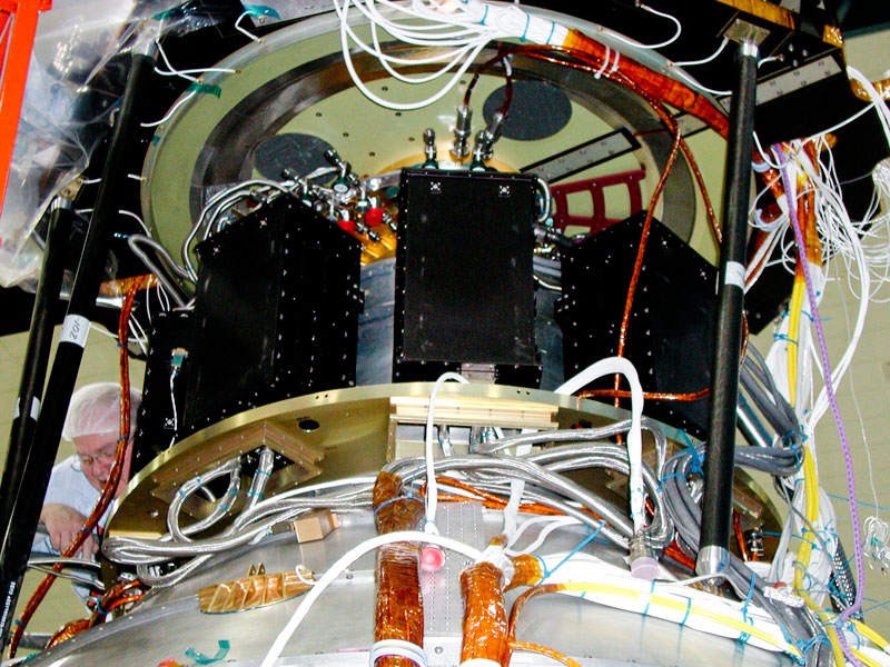 Gravity Probe B Integrated Spacecraft Amp Payload