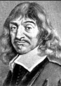 Painting of Descartes