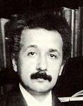 Photo of Albert Einstein circa 1916
