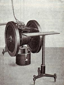 Photo of Föppl's experiment