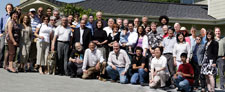 Photo of Memorial Day 2009 gathering of GP-B team members, KACST collaborators and friends of GP-B