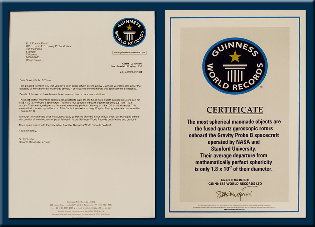 Gp b mission legacy for World record certificate template